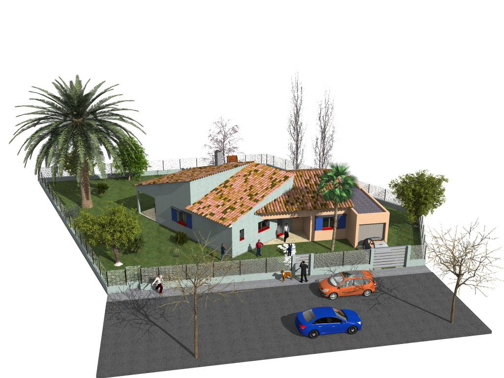 Archi2 avant projet sommaire d une maison individuelle sur for Projet maison individuelle