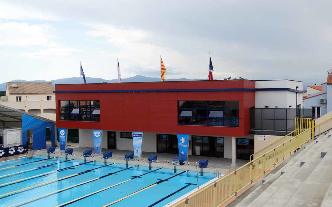 centre de natation ARLETTE FRANCO réalisation d'une salle de musculation